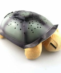 veilleuse tortue jaune qui diffuse des étoiles