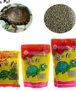 granulés tortue protéines